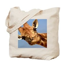 Curious GiraffeTote Bag
