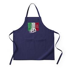Soccer Flag Italia Apron (dark)