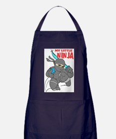 My Little Ninja Apron (dark)