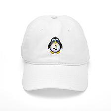 Penguin Music Lover Baseball Cap