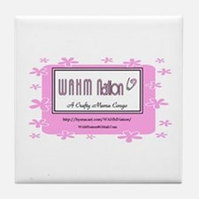 WAHM Nation Tile Coaster