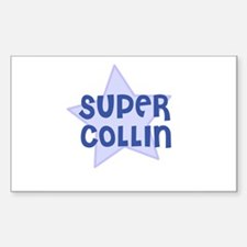 Super Collin Rectangle Decal