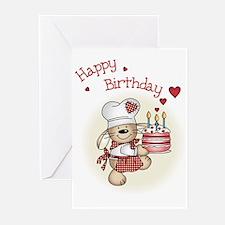 Birthday cake Greeting Cards (Pk of 10)