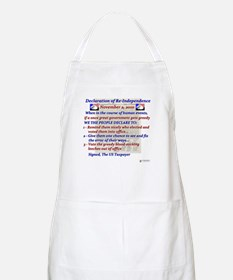 declaration of re-independenc Apron