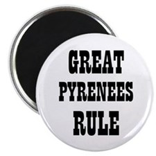 "GREAT PYRENEES RULE 2.25"" Magnet (10 pack)"