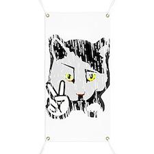 Peaceful Cat Banner