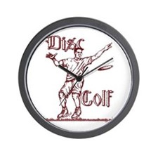 Disc Golfer Ron Wall Clock