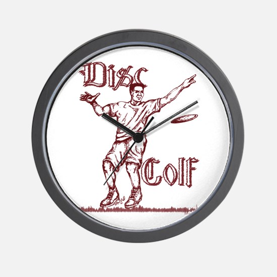 Disc Golfer Ron Wall Clock