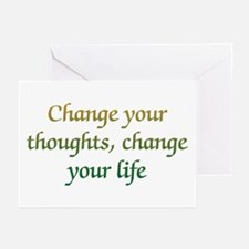 Change Your Thoughts Greeting Cards (Pk of 10)
