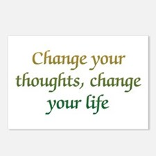 Change Your Thoughts Postcards (Package of 8)