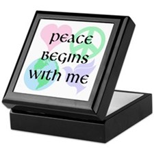 Peace Begins With Me Keepsake Box