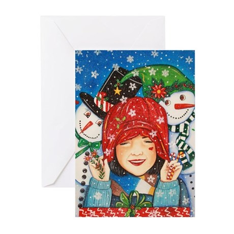Let it Snow, Let it Snow Greeting Cards (Pk of 10)