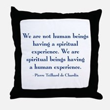 Spiritual Experience Throw Pillow