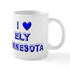 I Love Ely Winter Mug