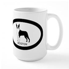 Pink Boston Terrier Mug