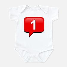 Notification Infant Bodysuit