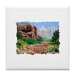Court House Butte Tile Coaster