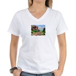 Court House Butte Women's V-Neck T-Shirt