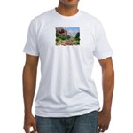 Court House Butte Fitted T-Shirt