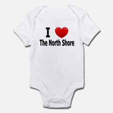 I Love The North Shore Infant Bodysuit