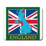 England Map Mousepad