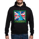 England Map Hoodie (dark)