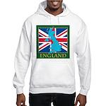 England Map Hooded Sweatshirt
