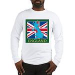 England Map Long Sleeve T-Shirt