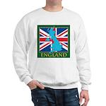 England Map Sweatshirt