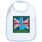 England Map Bib
