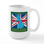 England Map Large Mug