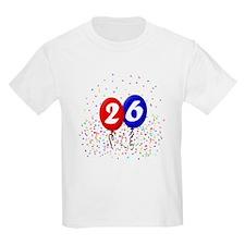 26th Birthday Kids T-Shirt