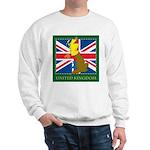 United Kingdom Map Sweatshirt