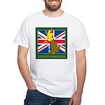 United Kingdom Map White T-Shirt
