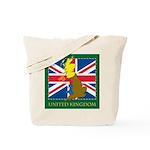 United Kingdom Map Tote Bag