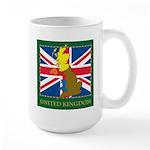 United Kingdom Map Large Mug