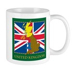 United Kingdom Map Mug