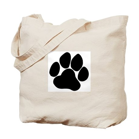 Friendly Paw Tote Bag