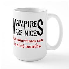 Vampires Are Nice Mug