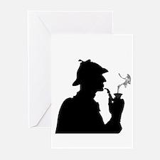 Sherlock, Pondering Greeting Cards (Pk of 20)