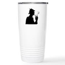 Sherlock, Pondering Stainless Steel Travel Mug