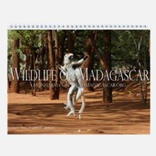 Wildlife of Madagascar 12-Month Wall Calendar