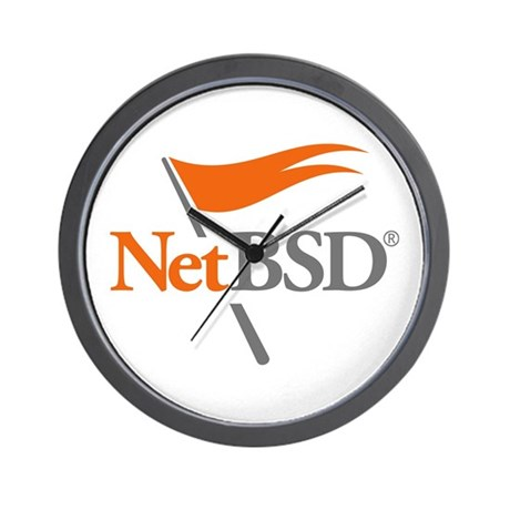 NetBSD Devotionalia + TNF Support Wall Clock