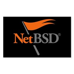 NetBSD Devotionalia + TNF Support Decal