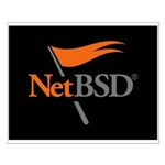 NetBSD Devotionalia + TNF Support Small Poster