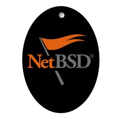 NetBSD Devotionalia + TNF Support Oval Ornament