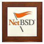 NetBSD Devotionalia + TNF Support Framed Tile