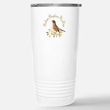 Robin Stainless Steel Travel Mug