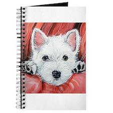 Westie Puppy Love Journal