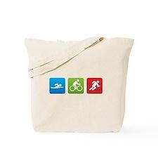 Cute Triathlete Tote Bag
